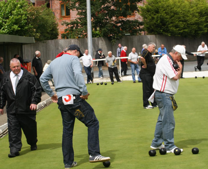 Longton VM Men Playing Bowls Image